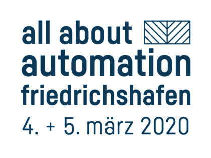 all about automation Friedrichshafen – March 4th + 5th, 2020
