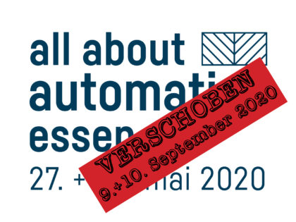 all about automation Essen – September 9th+10th, 2020