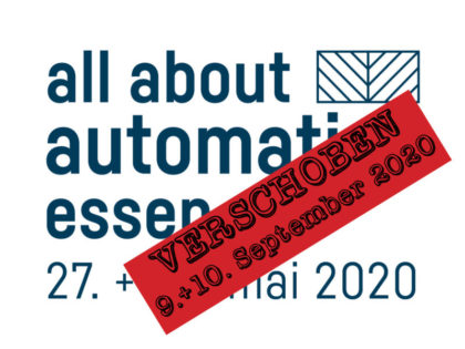 all about automation Essen – 09.+10. September 2020