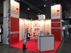 ConCab kabel gmbh Messe all about automation Chemnitz Essen Messestand